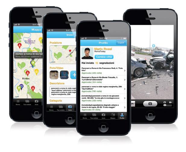 schermata applicazione Citynew - scarica app!!!