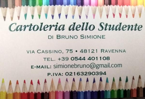 Cartoleria dello studente