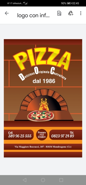 Pizza doc dal 1986 Mondragone