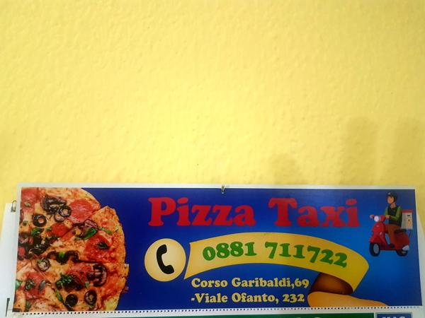 Pizzataxi