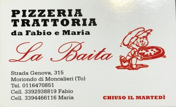 La Baita sas: pizzeria/ristorante