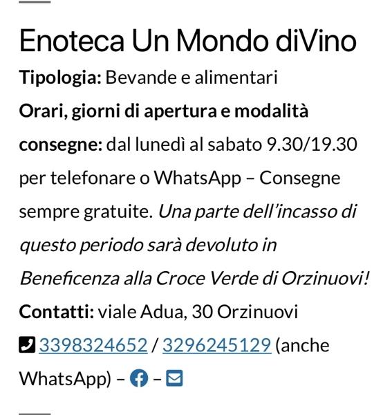 Enoteca Un Mondo DiVino Gastaldi