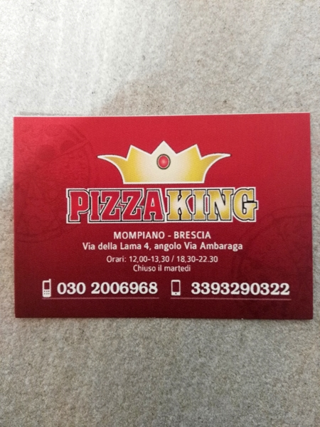 Pizza King delivery