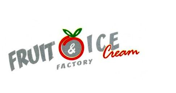Fruit and ice cream factory