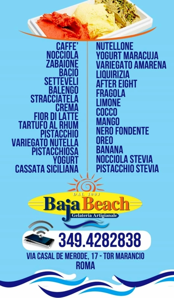 Gelateria Baja Beach